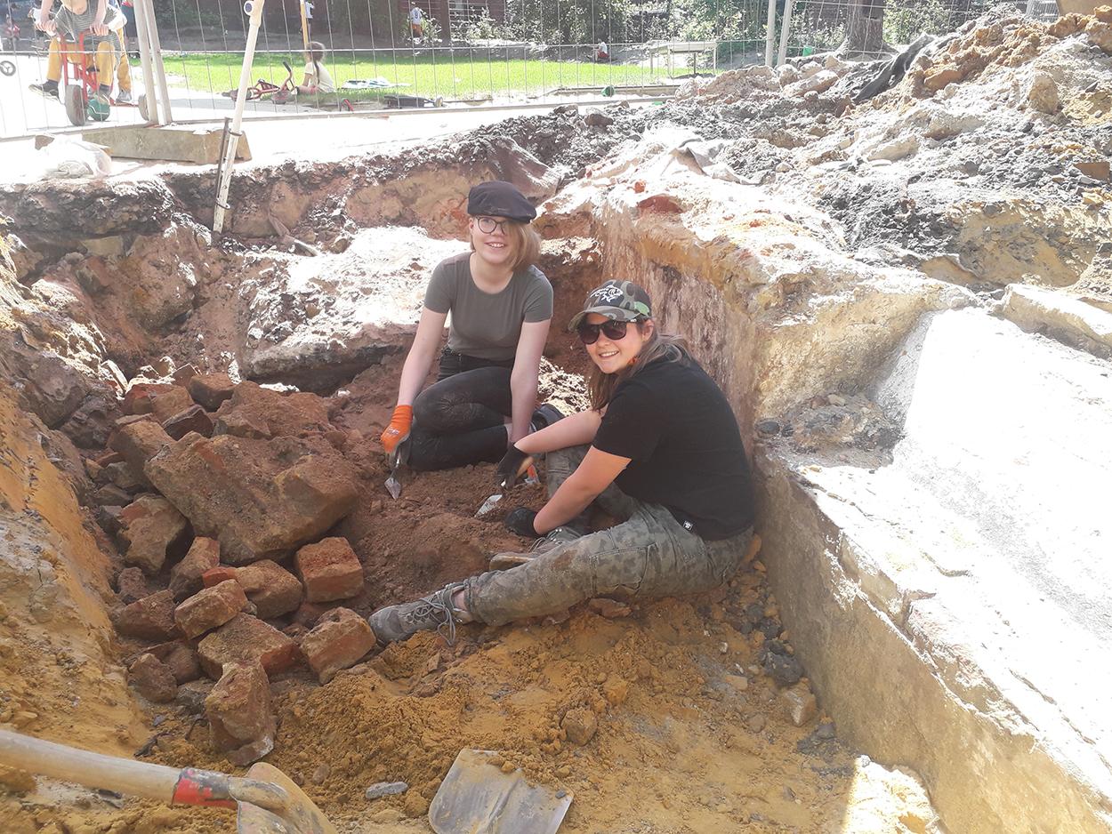 Archäologischer Nachwuchs